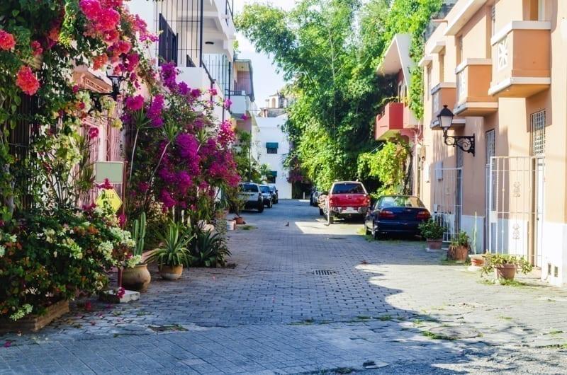 Typical neighborhood of Santo Domingo.