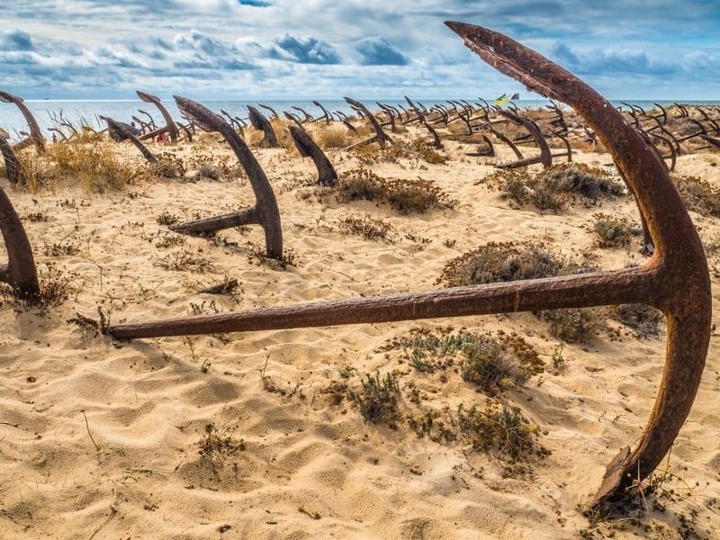 Barril Beach, Tavira, Portugal