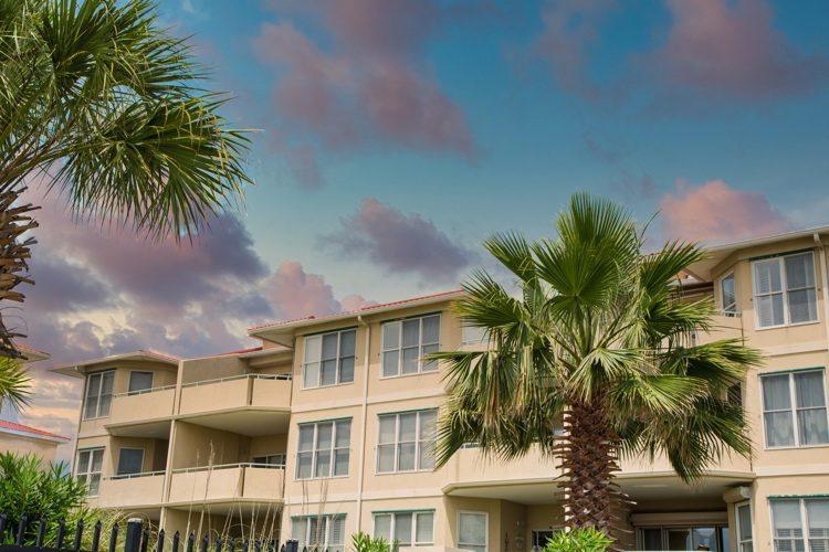 Luxury three story beach condos