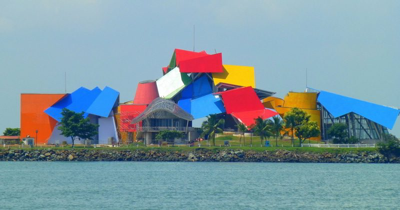 The Biomuseo in Panama