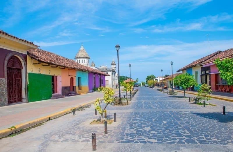 Street view of Granada, Nicaragua