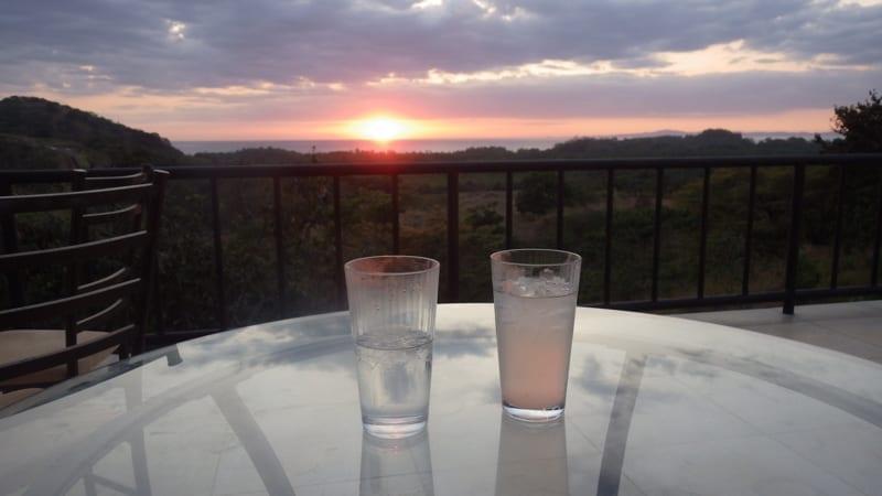 Sunset at Los Islotes, Panama