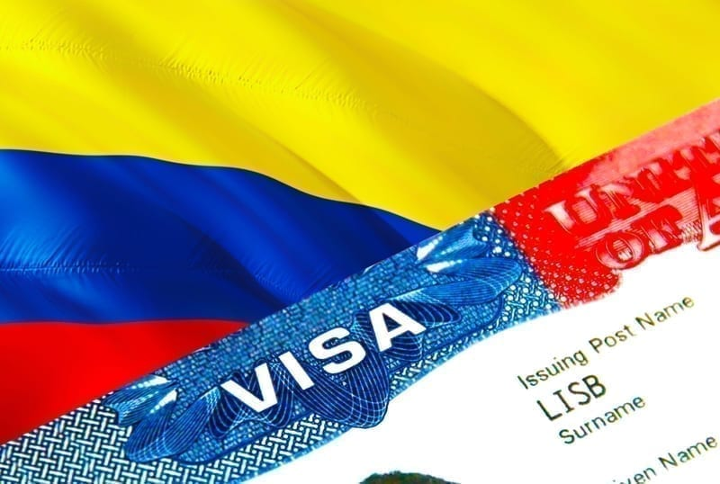 Colombia immigration visa.