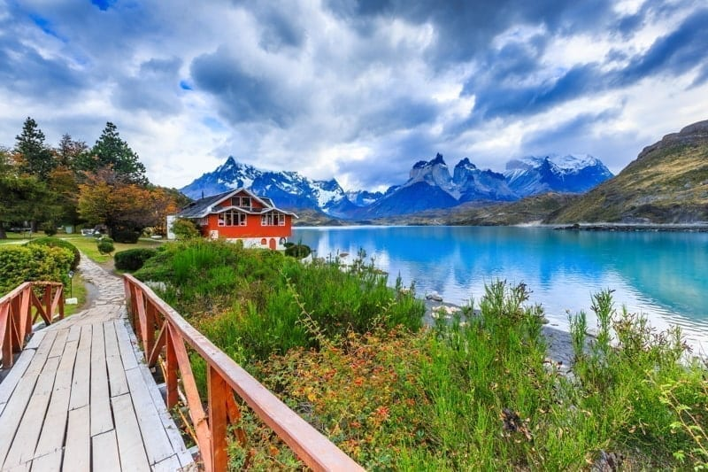 Torres Del Paine National Park, Chile. Pehoe Lake