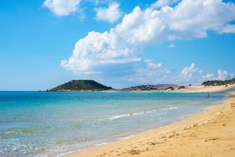 Golden Beach on the Karpaz Peninsula, Iskele District, Northern Cyprus