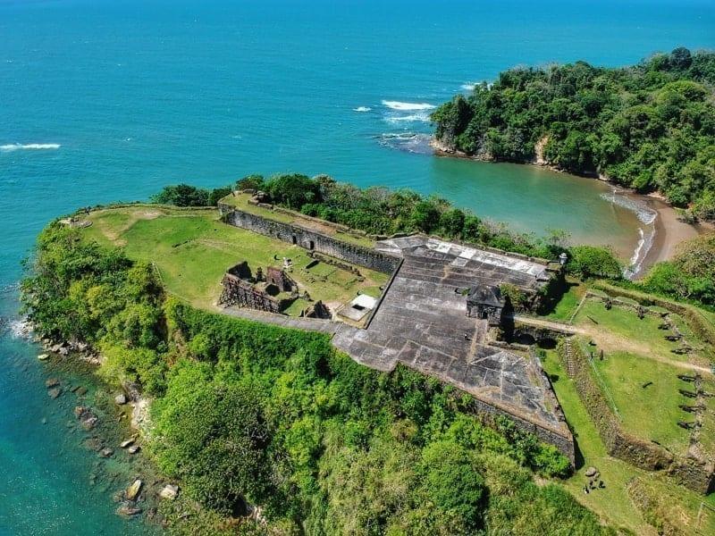 San Lorenzo Fort, Colón, Panama.