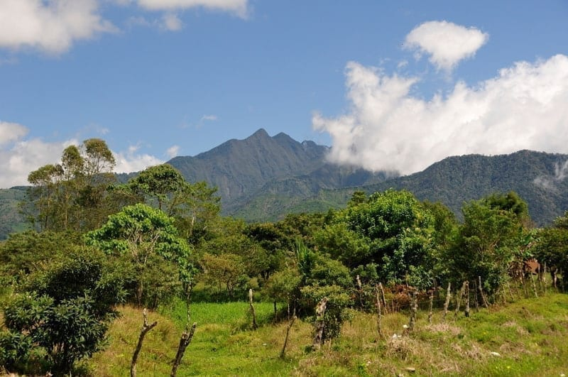 The beautiful Volcan Baru in Panama