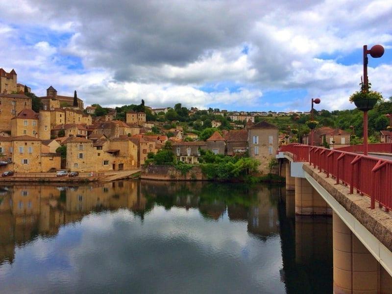 Townscape, Puy L'Eveque, Lot Region, Occitanie, France