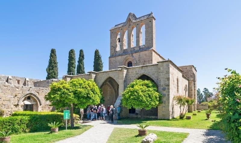 North Cyprus Bellapais Monastery