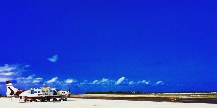 Airplane in Belize