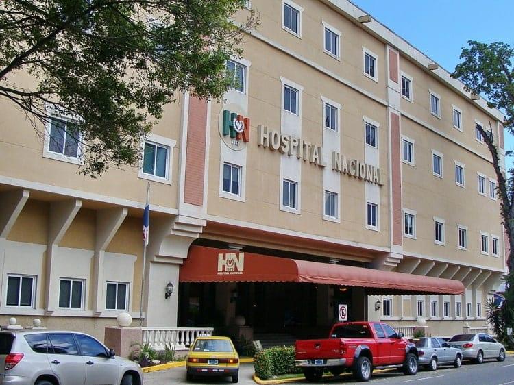 Hospital Nacional Hospital in Panama City entrance