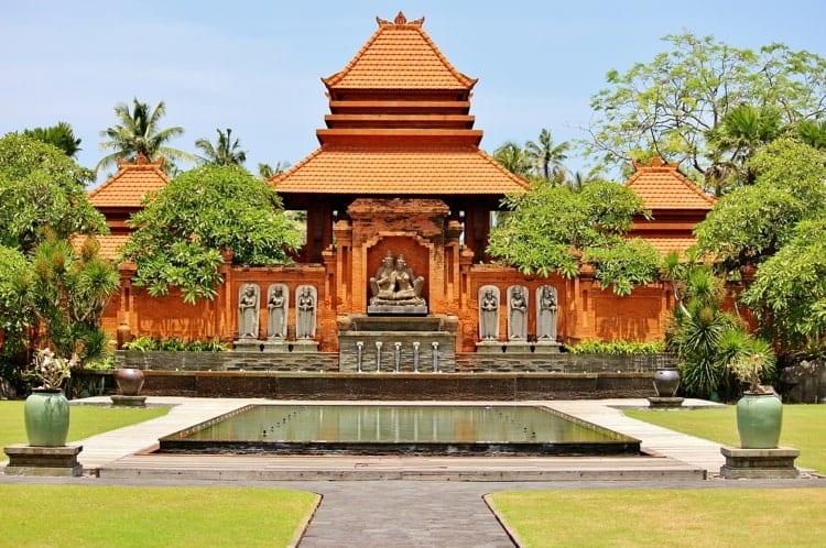 Temple in Kuta, Bali, Indonesia