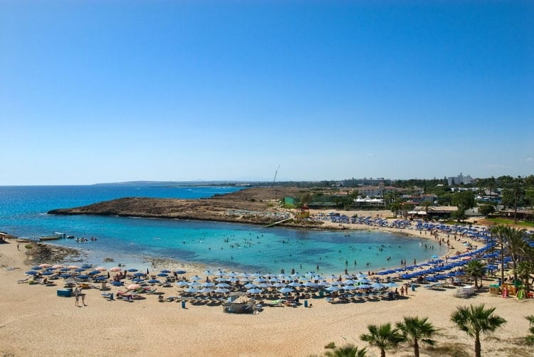 Sandy Bay Beach, Ayia Napa, Cyprus