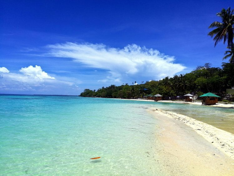 Out Of This World Lambug Beach In Badian, Cebu, Philippines