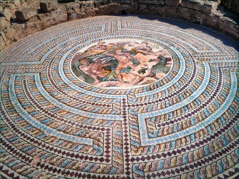 Mosaic at House of Aion, Cyprus