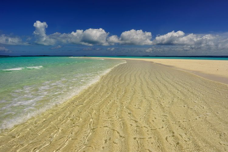 Ngurtafur beach, Warbal Island, Kei, South East Maluku, Indonesia