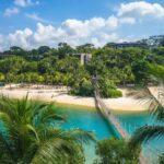 Pulau Palawan Beach at Sentosa, Singapore