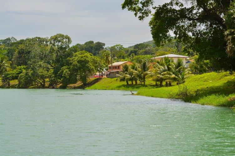 Macal River in San Ignacio, Belize