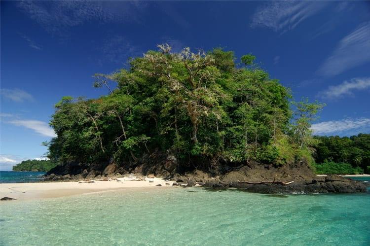 Coiba island in Panama