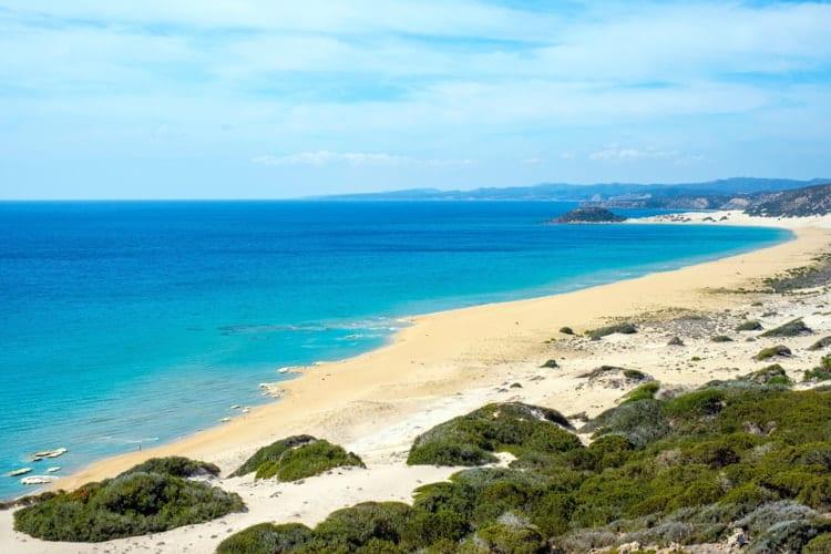 A beautiful beach in Cyprus