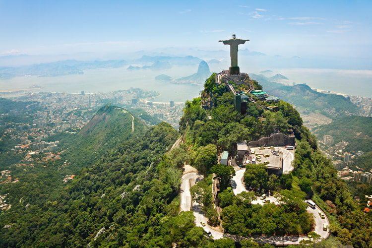 Christ the Redeemer on Corcovado Mountain Rio de Janeiro, Brazil