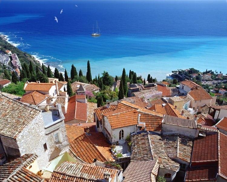 Village of Roquebrune in France