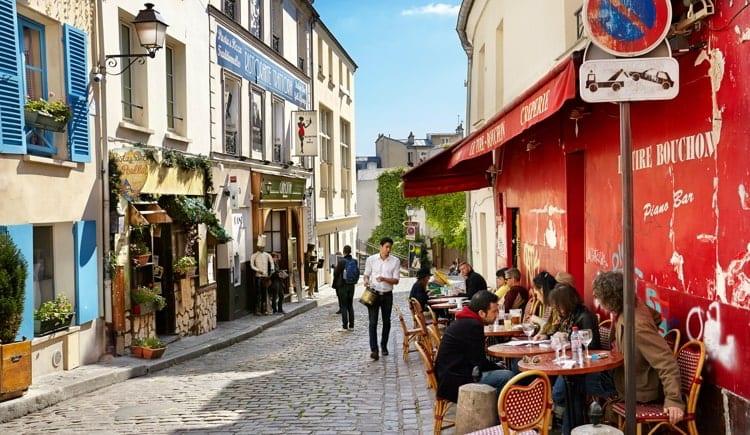 Montmartre District, Paris, France