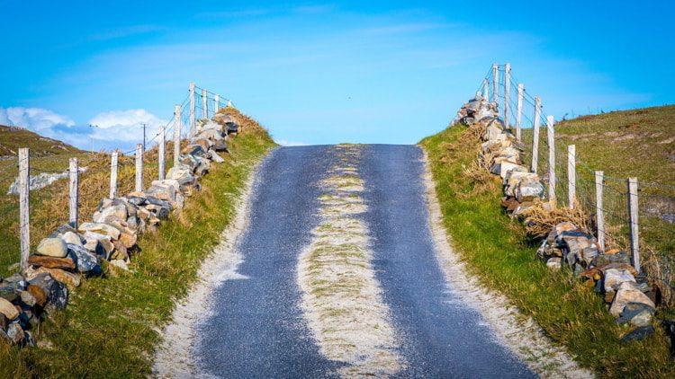 Road at the end of Mizen Peninsula, Ireland