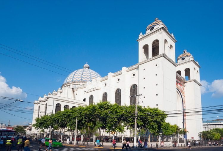 Cathedral in San Salvador, El Salvador
