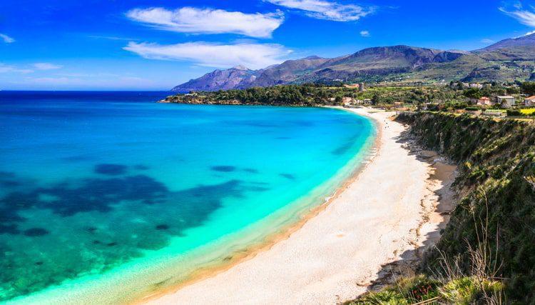Beautiful Scopello beach, Sicily, Italy