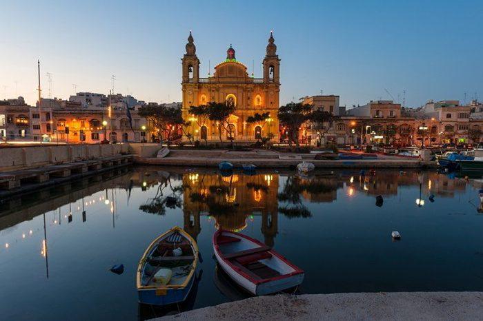 Msida Parish Church in Malta