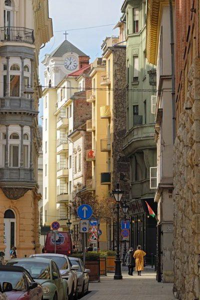 Nyáry Pál street in Budapest