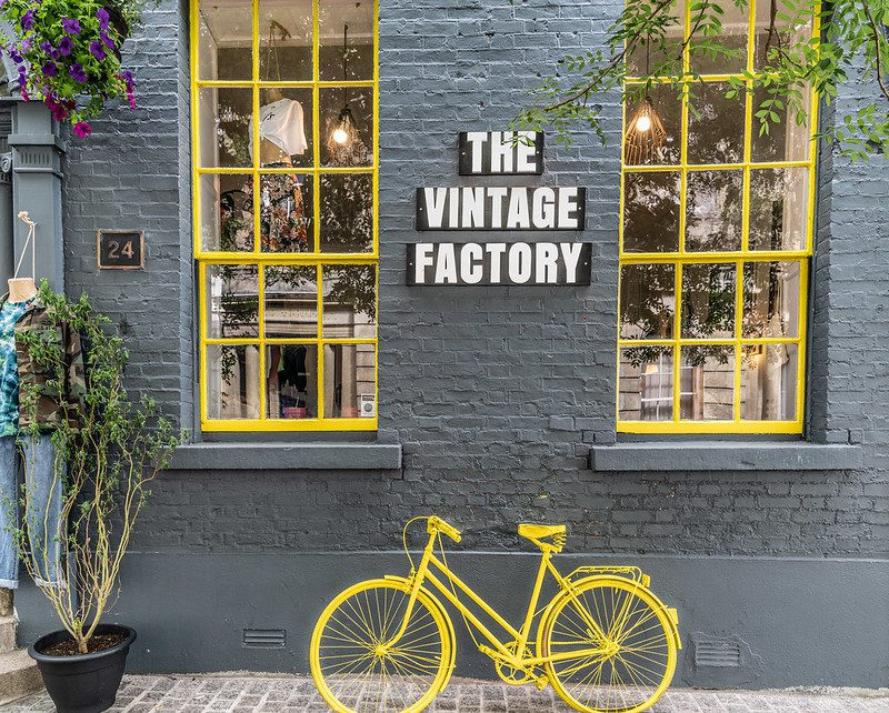 The vintage factory in Ireland