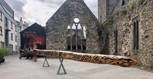 Wooden viking sword
